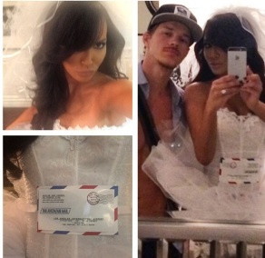 Naya Rivera as a Mail Order Bride