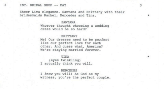 brittana wedding shop